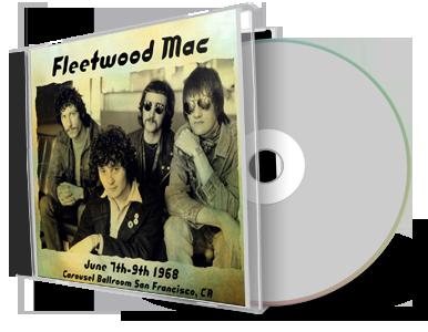 Fleetwood Mac with Paul Butterfield 1968-06-09 CD San Francisco Soundboard